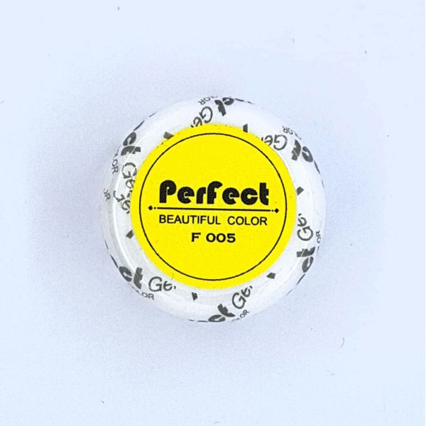 Perfect Beautiful Color Yellow F005